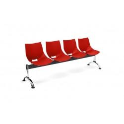 Bancada Shell 4 asientos