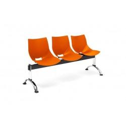 Bancada Shell 3 asientos