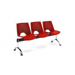 Bancada Strike 3 asientos